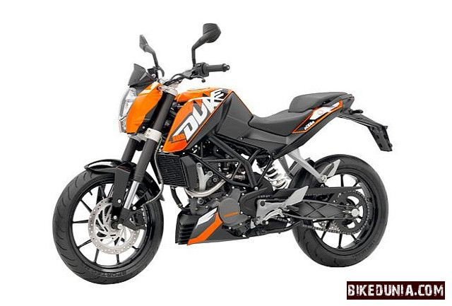 ktm duke 125 bikedunia. Black Bedroom Furniture Sets. Home Design Ideas