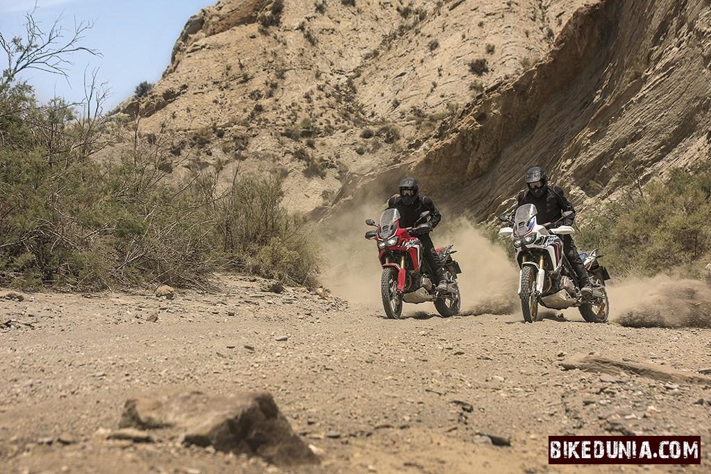 Honda Crf1000l Africa Twin Red And White