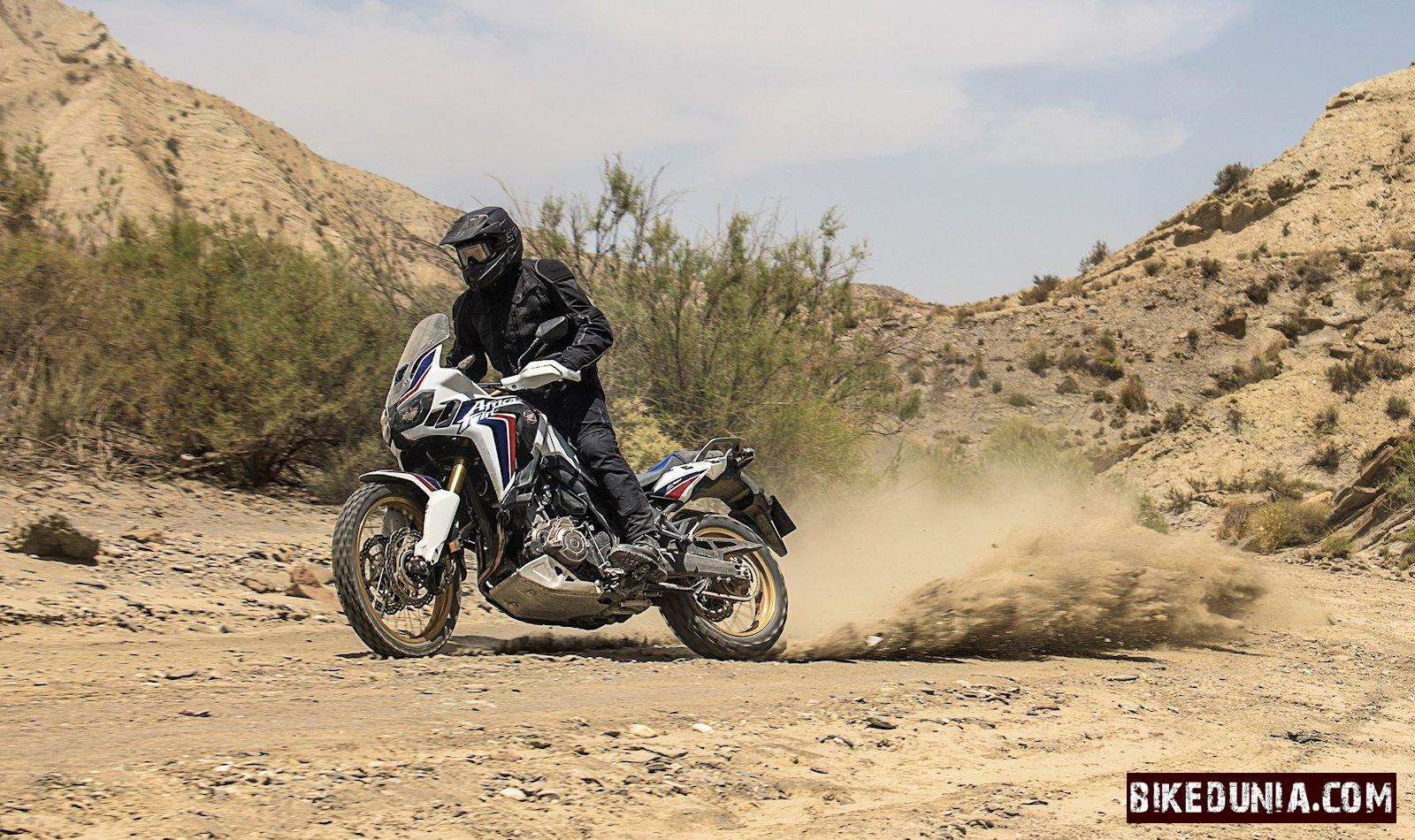 Honda Crf1000l Africa Twin White Color