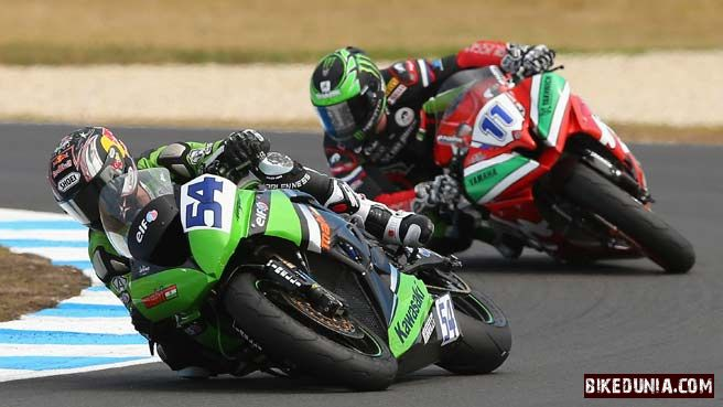 2013 World Supersport Championship Philip Island