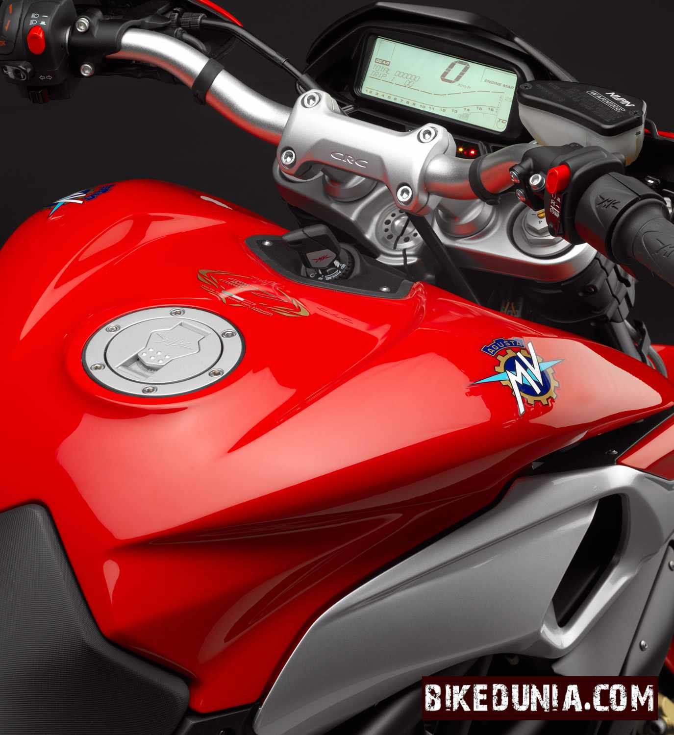 Once the rivale 800 makes arrival it would be available at mv agusta